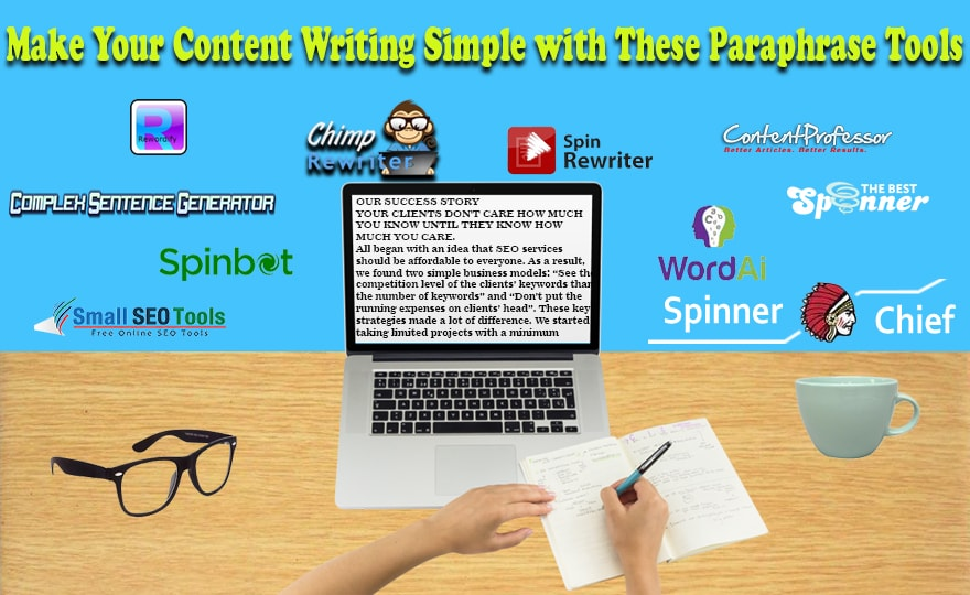 15 Paraphrase Tools That Will Make Content Writing Easy